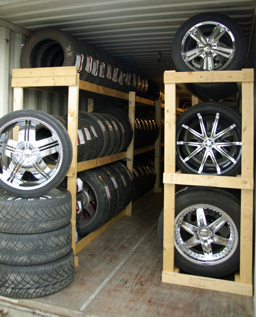 Хранение шин: как заработать на услуге для автомобилистов