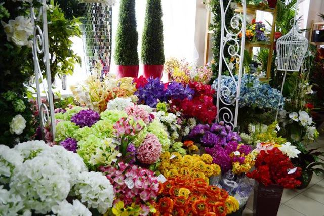 Искусственные цветы: производство и открытие магазина