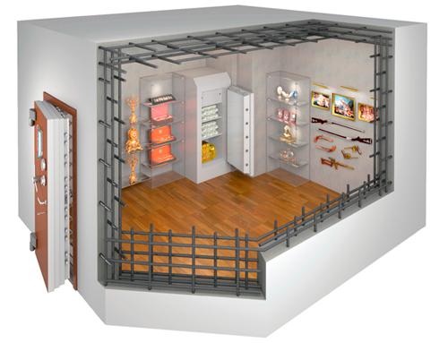 Сейфовая комната: помещение для защиты ценностей и жизни людей