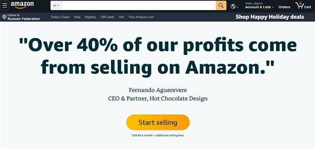 Статистика амазон: бизнес с нуля с доставкой по всему миру