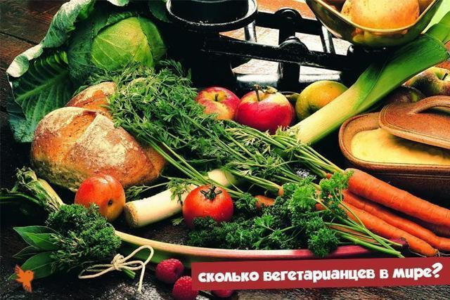 Статистика вегетарианцев: показатели в разных странах мира