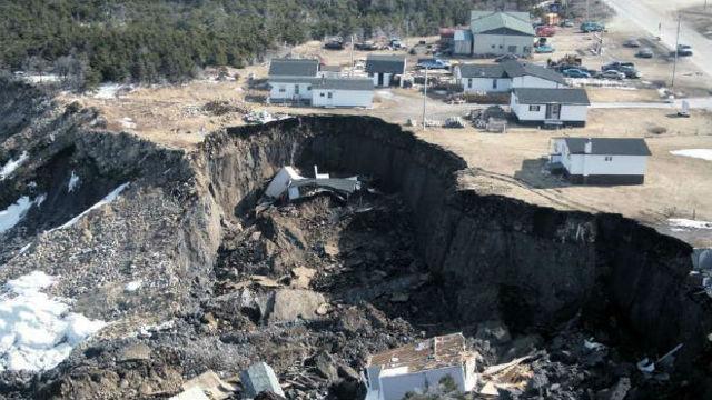 Статистика оползней: последствия разрушения горных пород